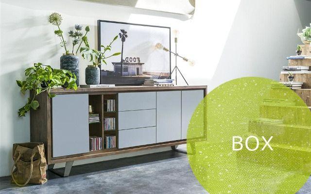 Henders und Hazel Box Möbel