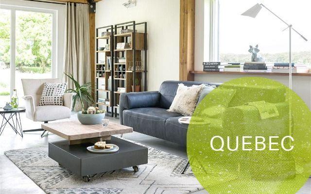 Henders und Hazel Quebec Möbel