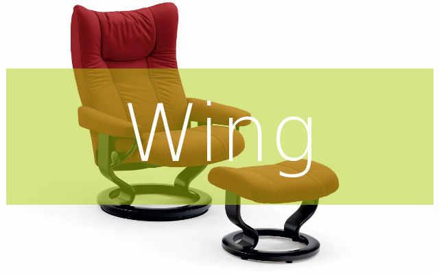Ekornes Stressless Wing Sessel